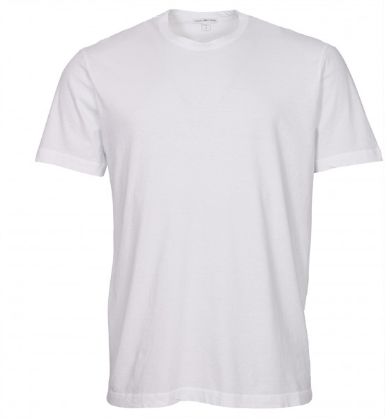 Men's James Perse T-Shirt Crewneck White