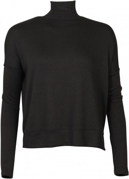 Women's Rag & Bone Longsleeve Bowery T-Neck black