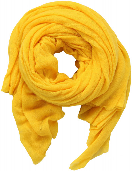 PIN1876 Cashmere Scarf Yellow