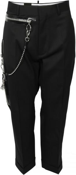 Women's D2 Dsquared Pants Chain black