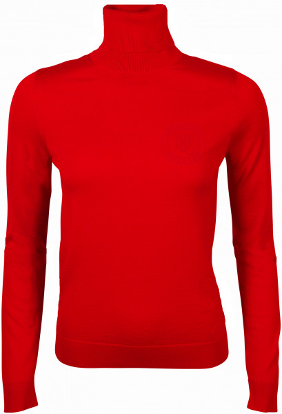 Women's Dsquared Turtleneck Pullover Red
