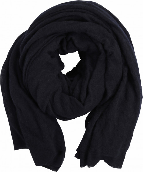 PIN1876 Cashmere Scarf Navy