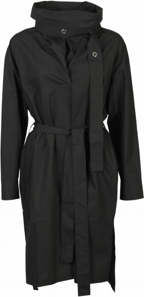 Women's Acne Studios Dress Denna Poplin Black