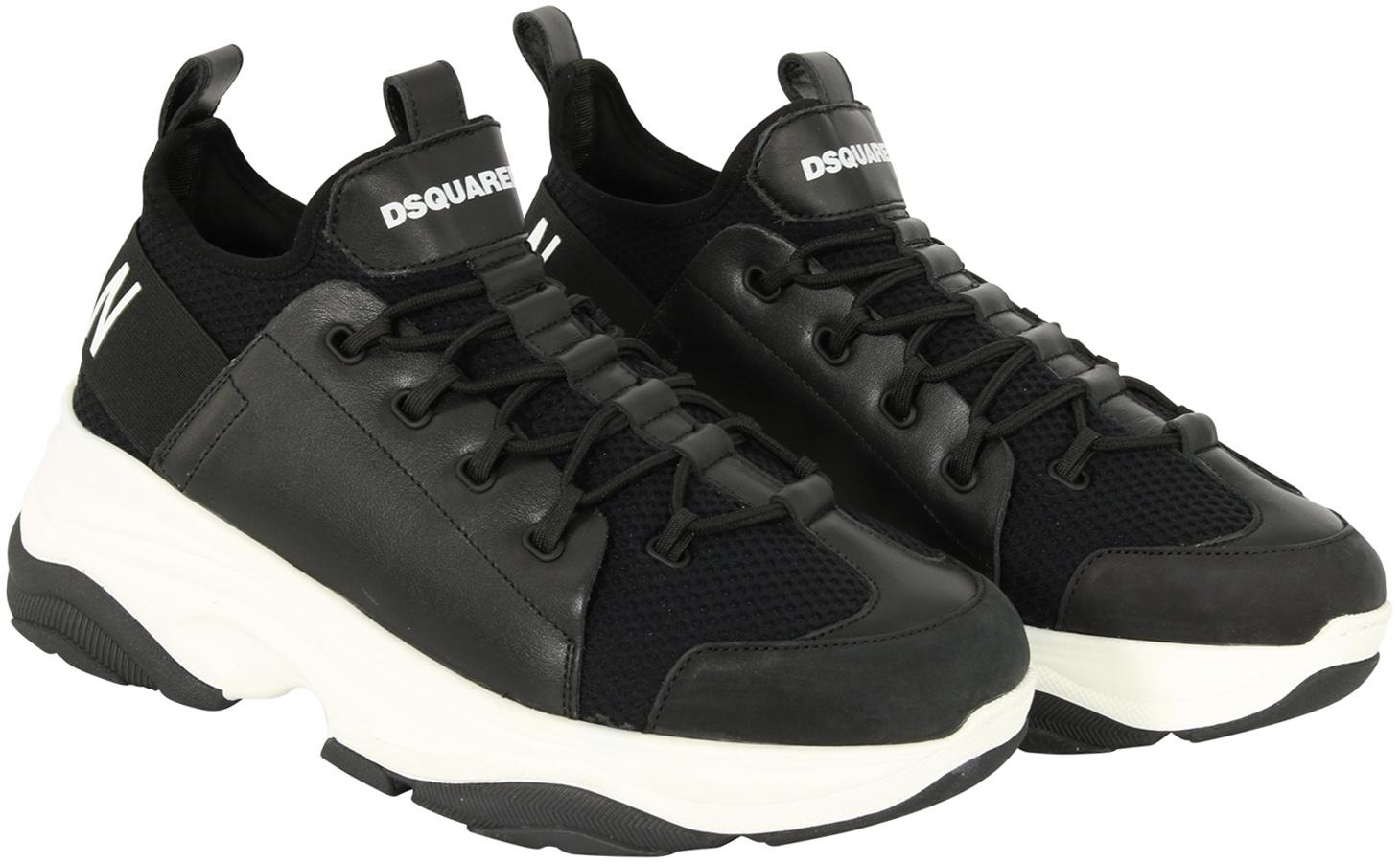 Men's Dsquared Sneaker Black   www