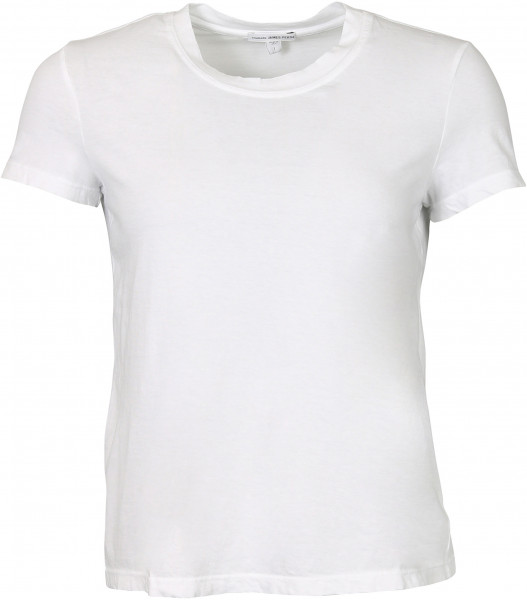 Women's James Perse Crewneck Boy T-Shirt White