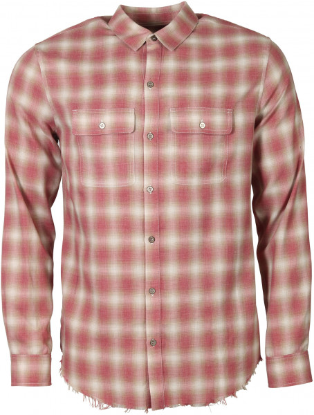 Men's Iro Shirt Sprinkle Red Check