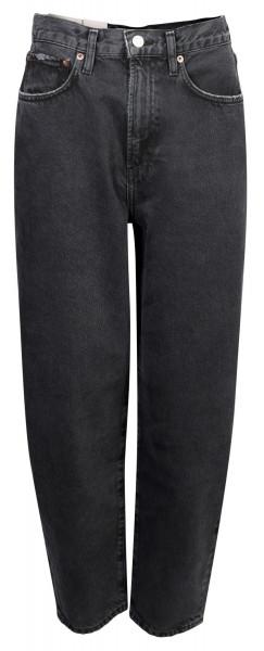 Women's Agolde Jeans Ballon Black Washed