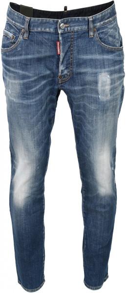 Men's Dsquared Jeans Skater Blue Washed