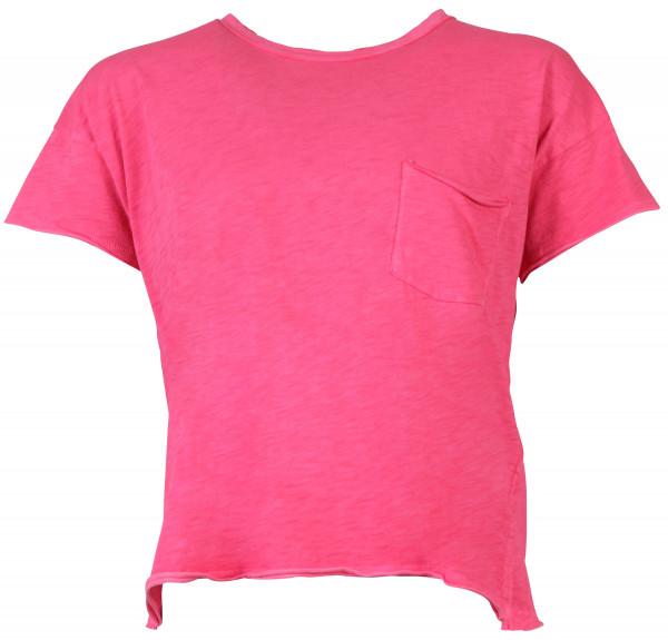 Rag & Bone T-Shirt Rundhals pink