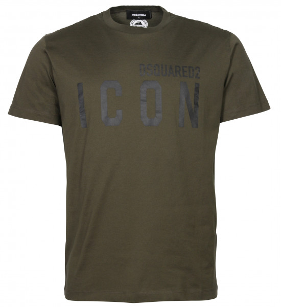 Men's Dsquared Icon T-Shirt Olive