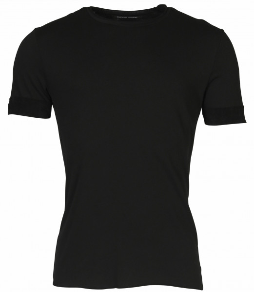 Men's Hannes Roether T-Shirt Black Teddy Inside
