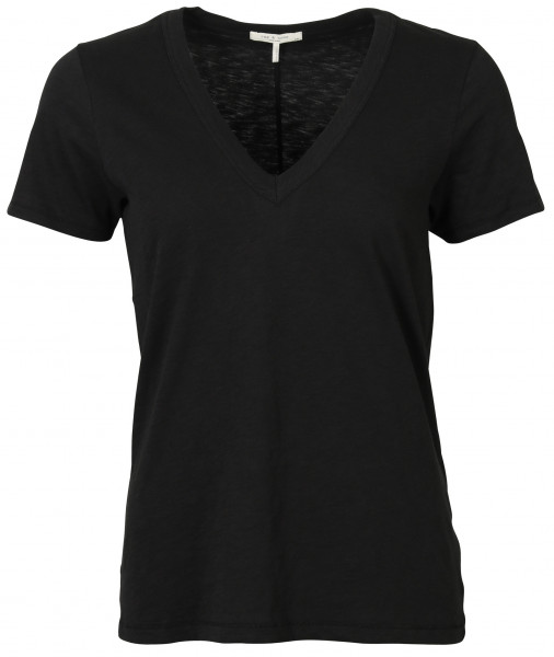 Women's Rag & Bone V T-Shirt Black