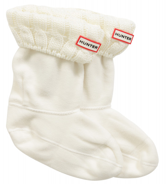 Hunter Original Short Boots Socken creme