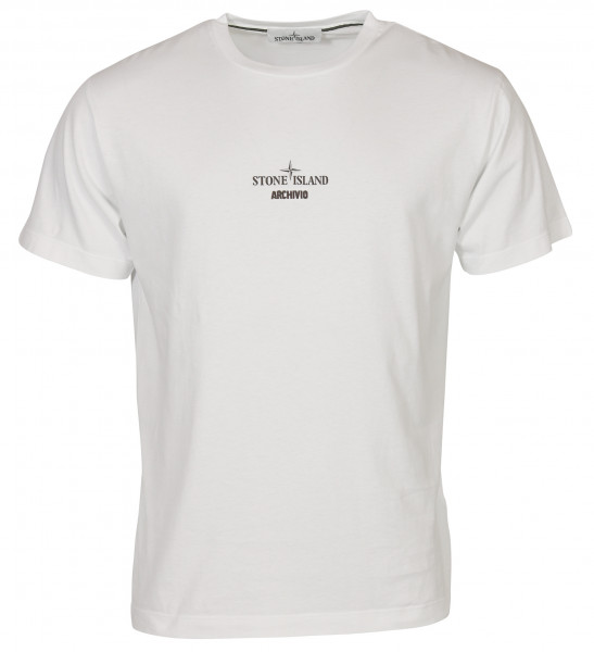 Men's Stone Island Archivio T-Shirt White