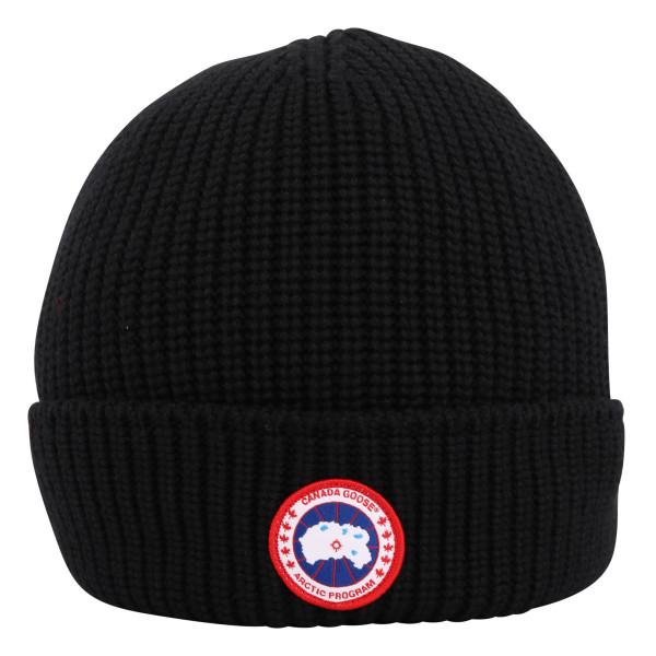 Men's Canada Goose Arctic Disc Rib Cap Black