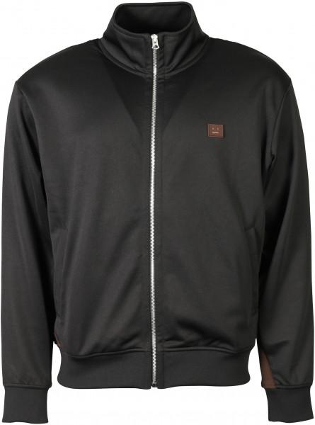 Men's Acne Studios Track Jacket Frescot Face Black/Brown