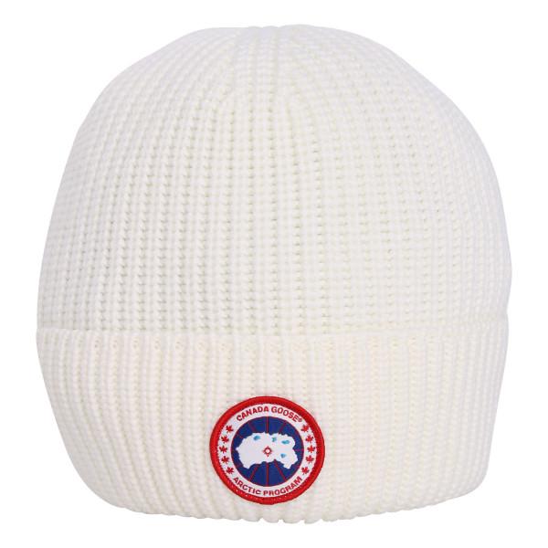 Canada Goose Arctic Disc Rib Cap White