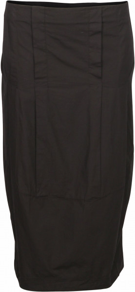 Women's Transit Par Such Cotton Skirt Black