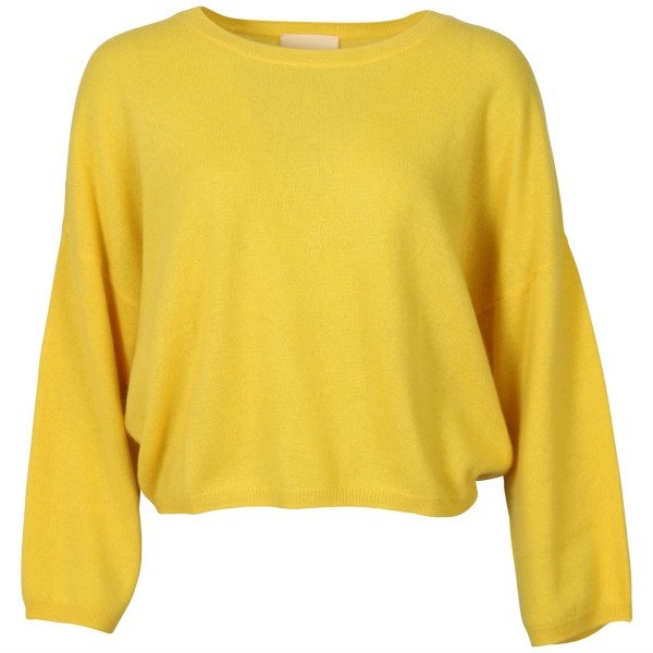 Women's Absolut Cashmere Pullover Alicia Yellow