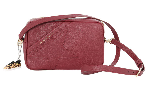Women's Golden Goose Star Bag Bordeaux