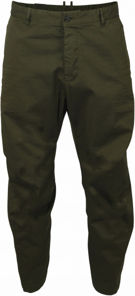 Men's Dsquared Chino Skipper Fit Olive