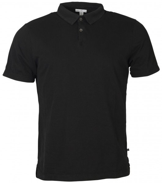 Men's James Perse Standard Polo Black