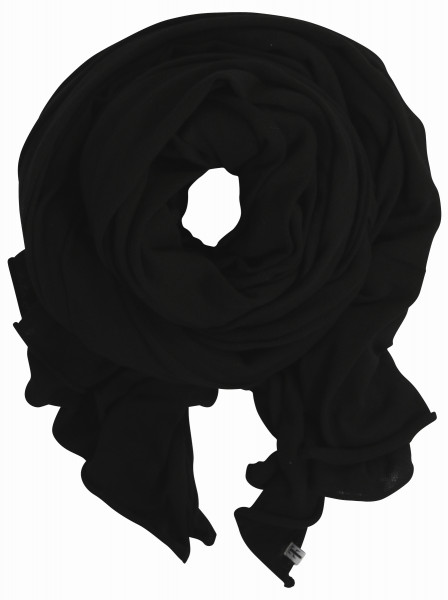 Tif Tiffy Organic Scarf Alabama Black