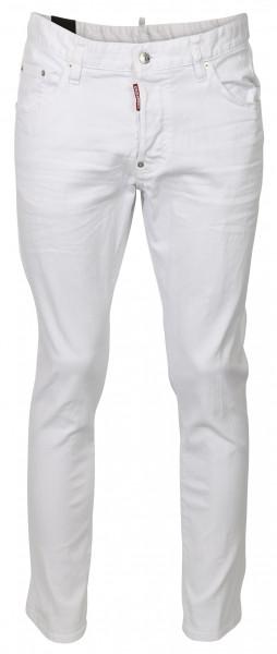 Men's D2 Dsquared Jeans Skater white