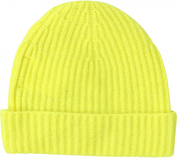 Women's Absolut Cashmere Cap Fluo Yellow