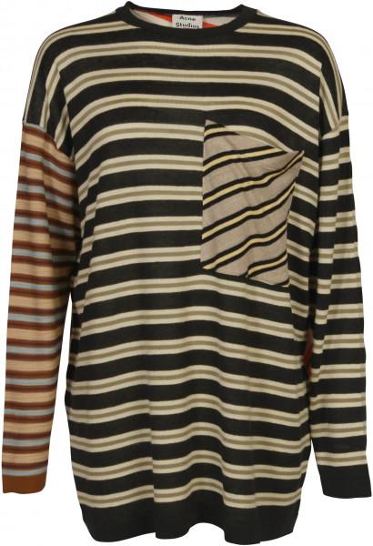 Women's Acne Studios Knit Sweater Kadine Stripe