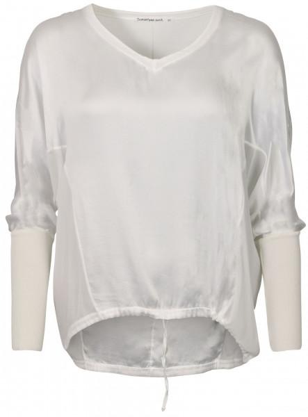 Women's Transit Par Such Silk Blouse White