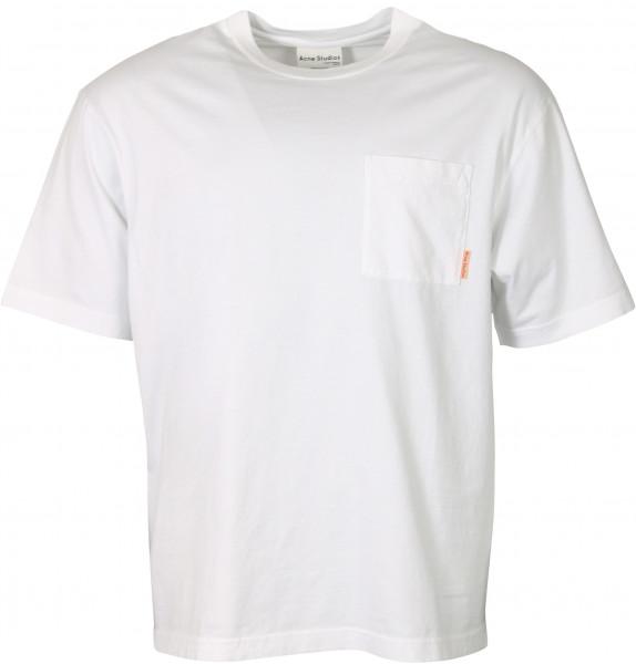 Men's Acne Studios Extorr Pocket T-Shirt White