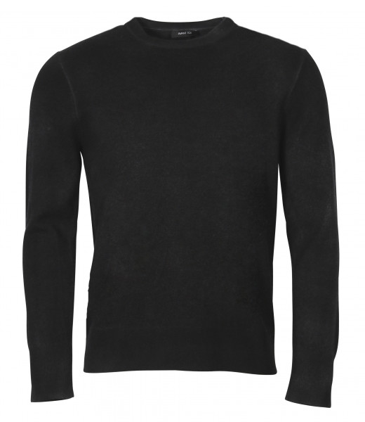 Men's Avant Toi Knit Sweater Black/Grey