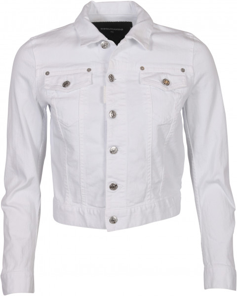 Women´s Dsquared Denim Jacket White