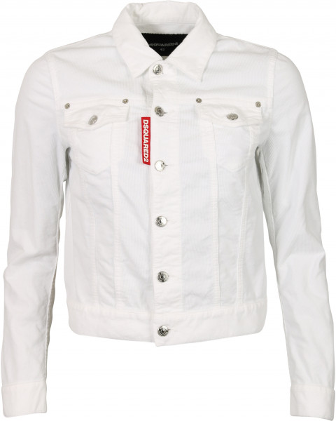 Women's Dsquared Cord Jacket Off White