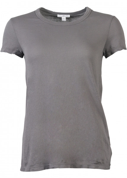 James Perse Rundhals Shirt grau