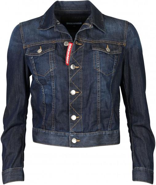 Women's Dsquared Denim Jacket Blue