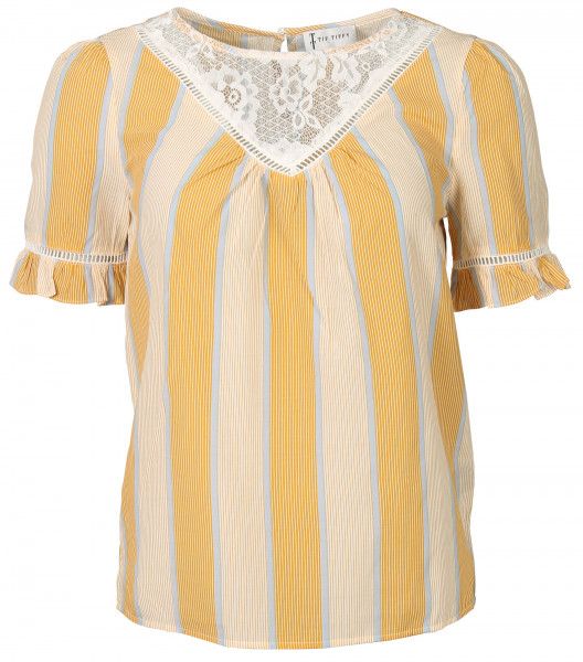 Women's Tif Tiffy Blouse Bonnie Yellow Striped