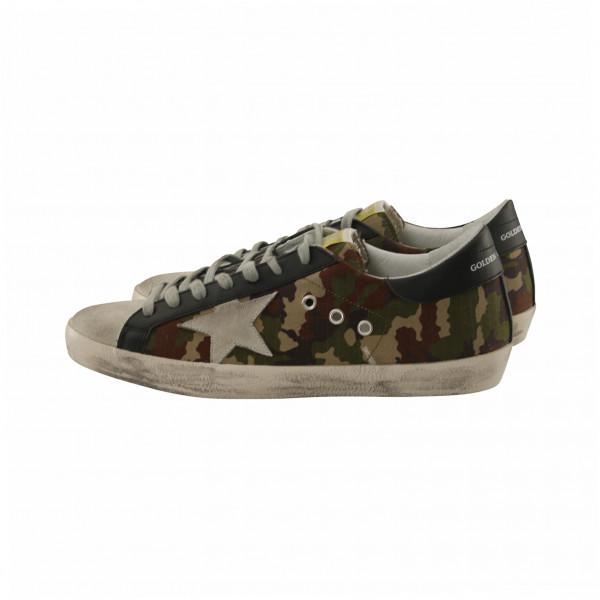 Men's Golden Goose Sneaker Superstar Camouflage