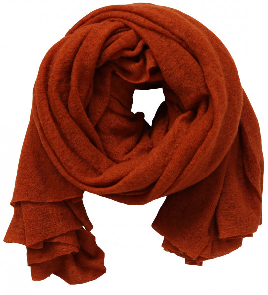 PIN1876 Cashmere Scarf Rusty
