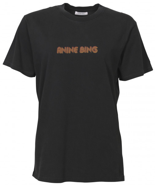 Women's Anine Bing Lili Tee Washed Black