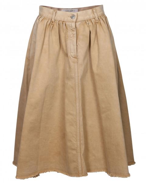 Women's Golden Goose Skirt Adele Washed Beige
