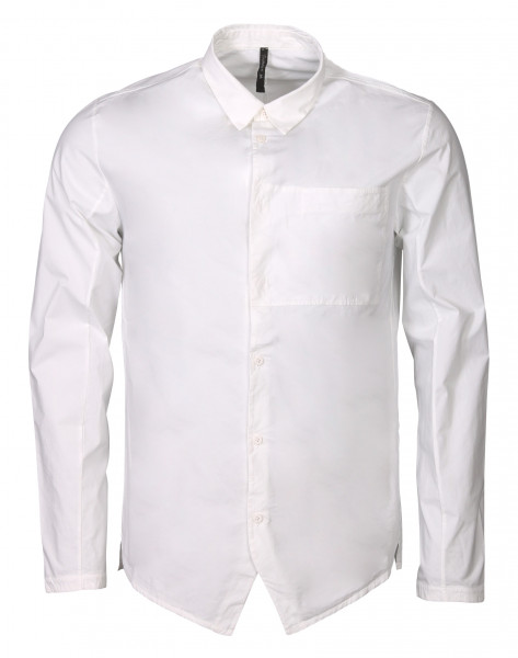 Men's Transit Uomo Cotton White Shirt