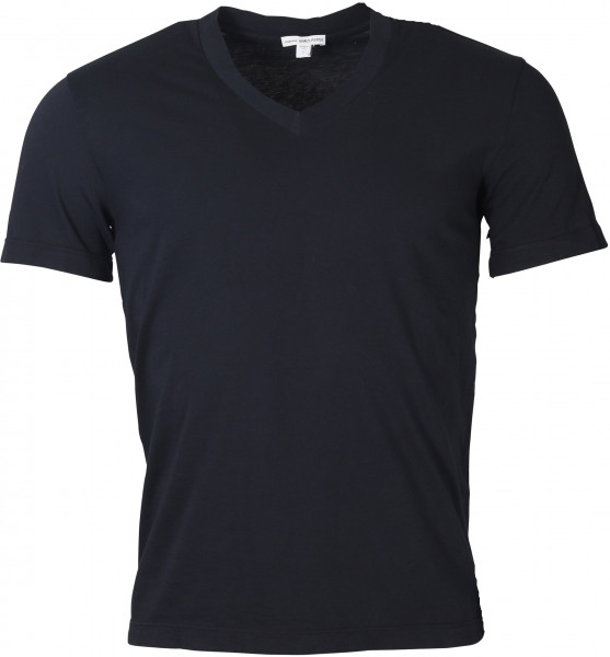 Men's James Perse T-Shirt V-Neck Navy
