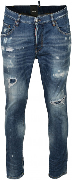 Men´s Dsquared Jeans Skater Blue Washed