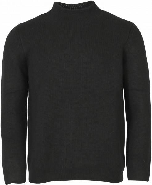Men's AIDA BARNI Cashmere Turtle Neck Sweater Black