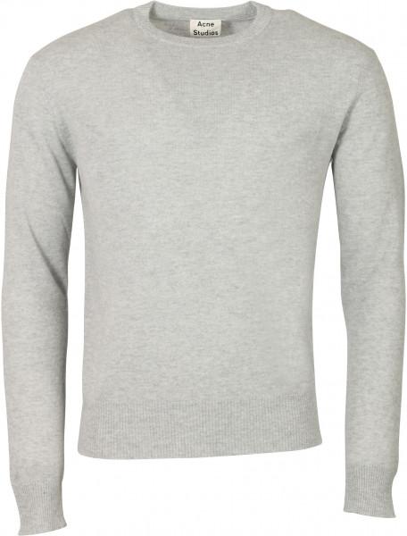 Men's Acne Studios Knit Sweater Niale Grey Melange