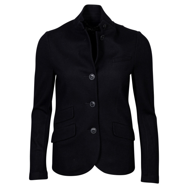 Women's Rag & Bone Tight Wool Jacket Slade Black