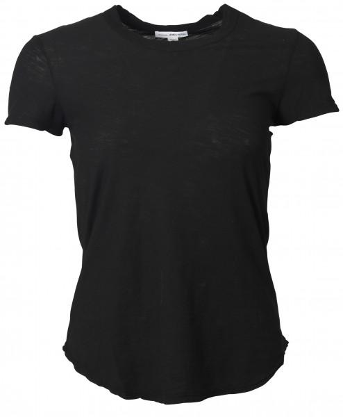 Women's James Perse T-Shirt crewneck black