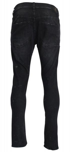 R 13 Mens Jeans Skate Black Marble R13MN019940